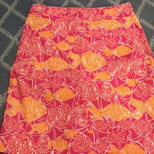 Lilly Pulitzer jubilee skirt